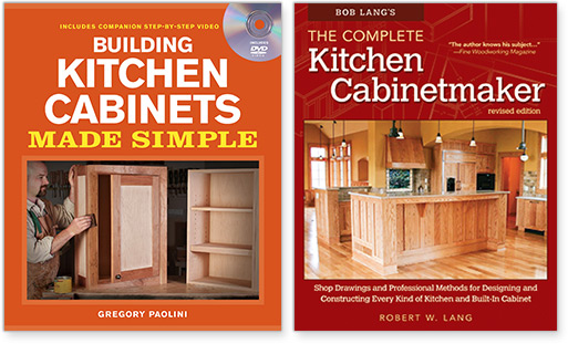 Curated books on cabinetmaking